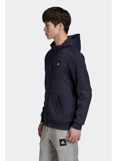 adidas Adidas Erkek Günlük Giyim Kapşonlu Eşfoman Üstü Mhs Fz Sta Fu0037 Renkli